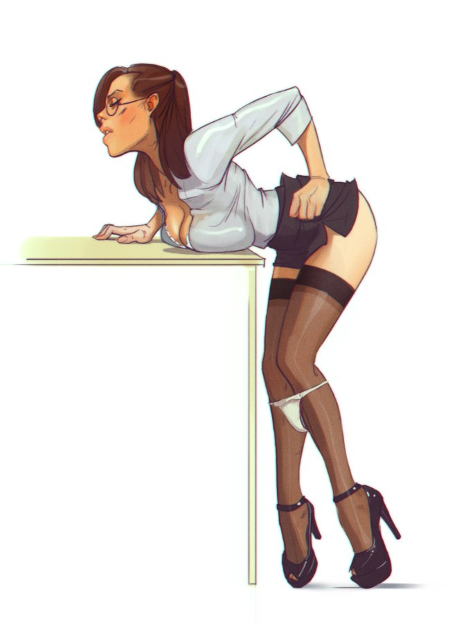 The Sexy Secretary….
